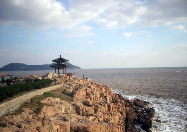 普陀山-百步沙沙滩-2015国际海岛旅游大会闭幕