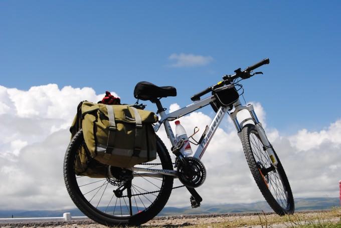 青海湖环湖骑行-----心与身体的较量