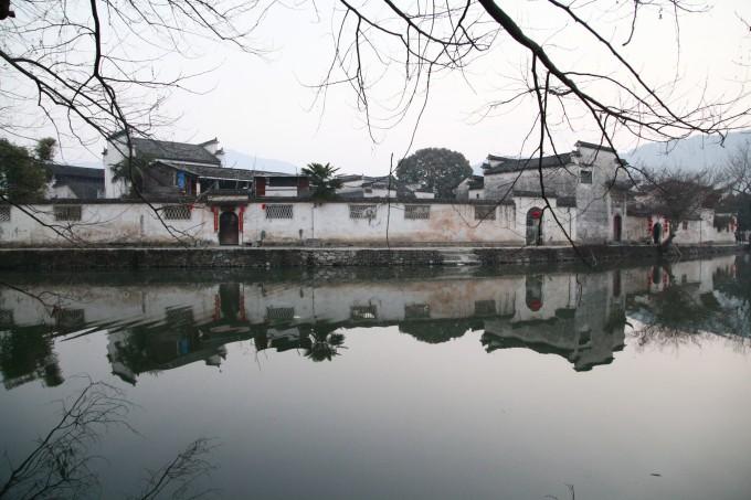 手绘徐州风景画
