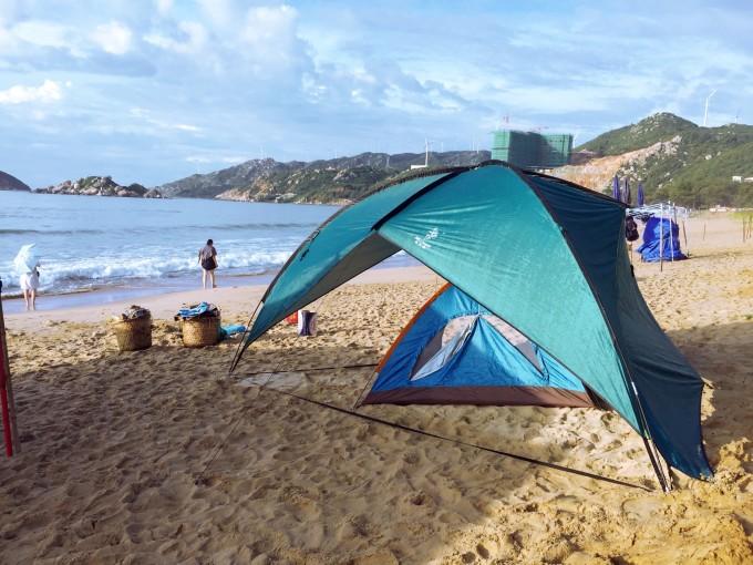 端午我把南澳岛给睡了(记:青澳湾海边露营)