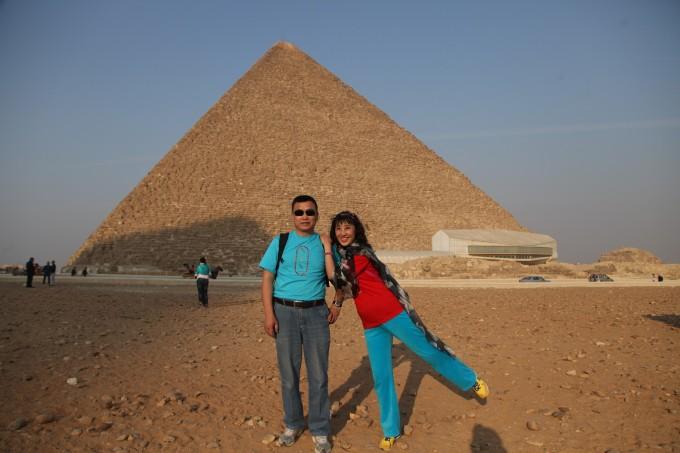 因为胡夫金字塔的