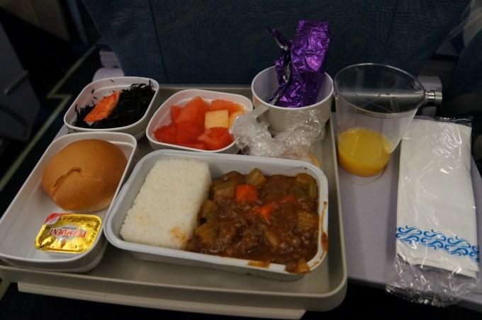 国航飞机餐