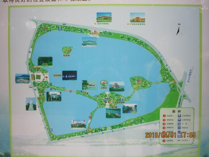 西湖景点地图简笔画
